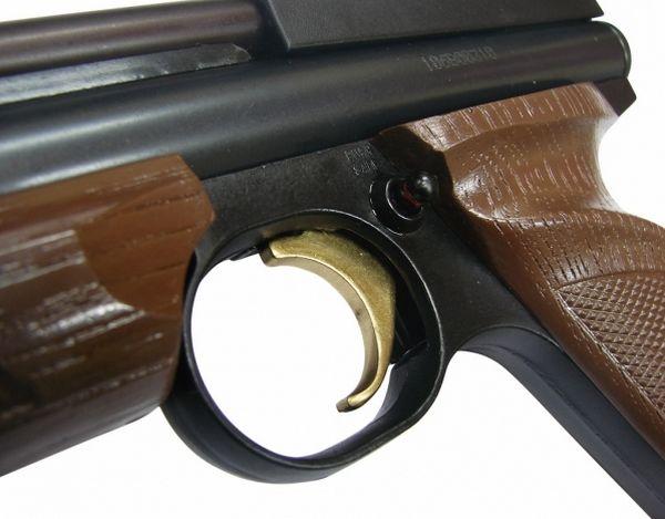 Установка предохранителя на пистолете Crosman 1377