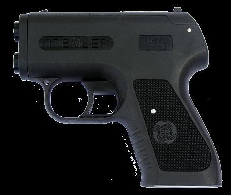 Аэрозольный пистолет «Премьер» имеет внешний вид настоящего огнестрельного оружия